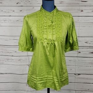 Adorable Green Top Worn Once!